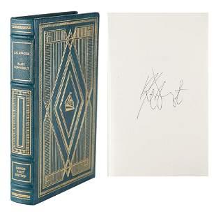 Kurt Vonnegut Signed Book