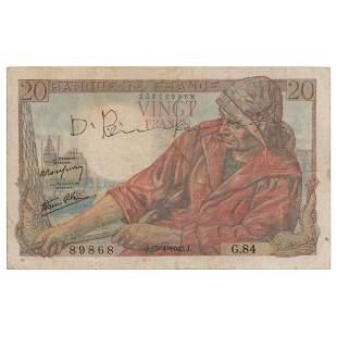 Django Reinhardt Signed Currency