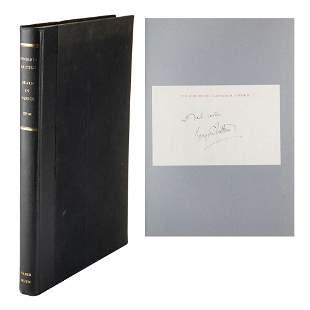 Benjamin Britten Signature