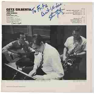 Stan Getz Signed Album