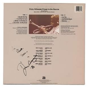 Dizzy Gillespie Signed Album