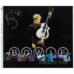 David Bowie Signed CD