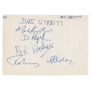 Dire Straits Signatures