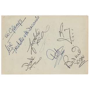 Freddie and The Dreamers Signatures