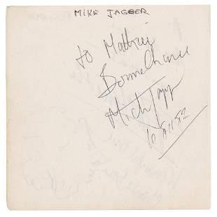 Rolling Stones: Mick Jagger