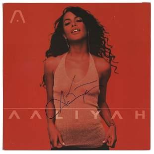 Aaliyah Signed Album