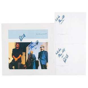 Bee Gees: Maurice and Robin Gibb (3) Signed Items