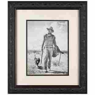John Wayne Signed Photograph