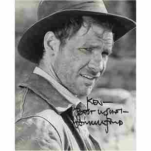 Harrison Ford Signed Photograph