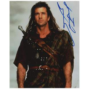 Mel Gibson Signed Photograph