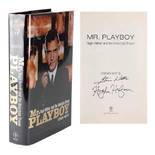 Hugh Hefner Signed Book