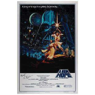 Star Wars (2) Signed Posters