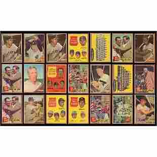 1962 Topps Mid-Grade Baseball Card Collection (3,800+)