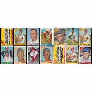 1966 Topps Baseball Card Collection (1,500+) with HOF