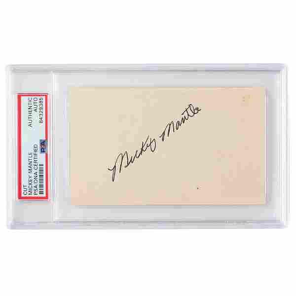 Mickey Mantle Signature