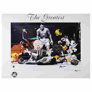 Muhammad Ali Signed Print