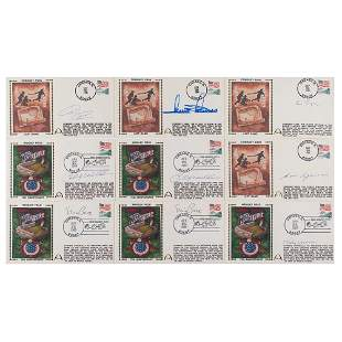 Chicago Baseball Greats (9) Signed Covers