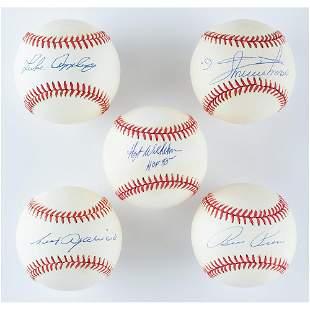 Chicago White Sox Greats (5) Signed Baseballs