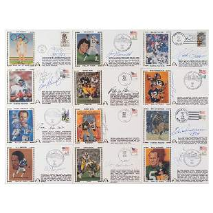 Football (12) Signed Covers