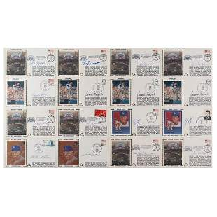 Los Angeles Dodgers (16) Signed Covers