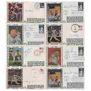 NY Yankees (8) Signed Covers