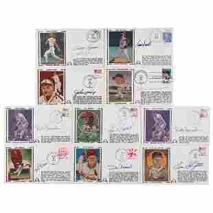 St. Louis Cardinals (10) Signed Covers