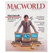 Steve Jobs and Steve Wozniak Signed Issue of Macworld