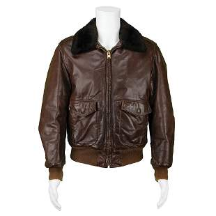 Steve Jobs's Personally-Owned and -Worn Leather Bomber