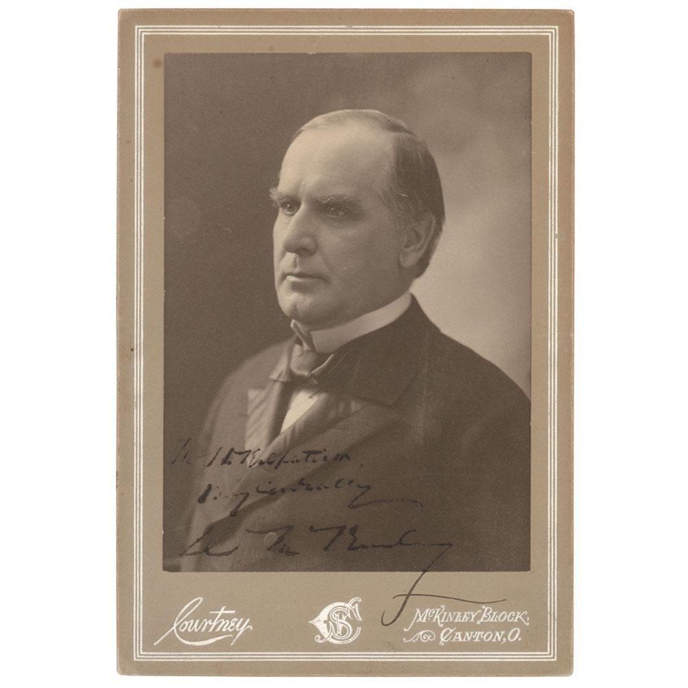 William McKinley Signed Photograph