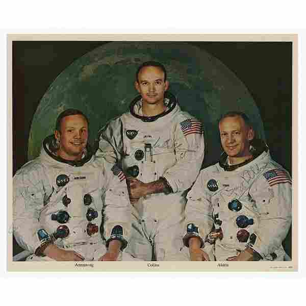 Apollo 11 Signed Photograph