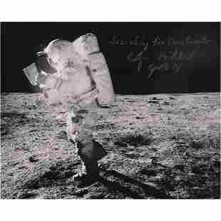 Edgar Mitchell Signed Photograph