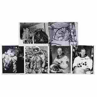 Apollo Astronauts (6) Signed Photographs