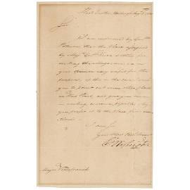 George Washington Letter Signed
