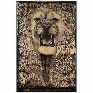 Grateful Dead and Santana Iconic 1968 Fillmore West (BG