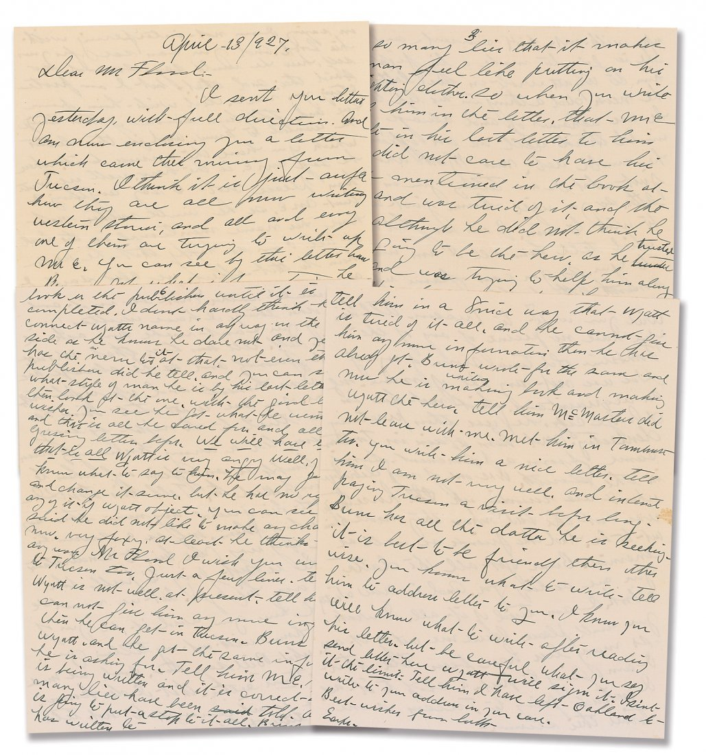 4: Josie Earp Letter