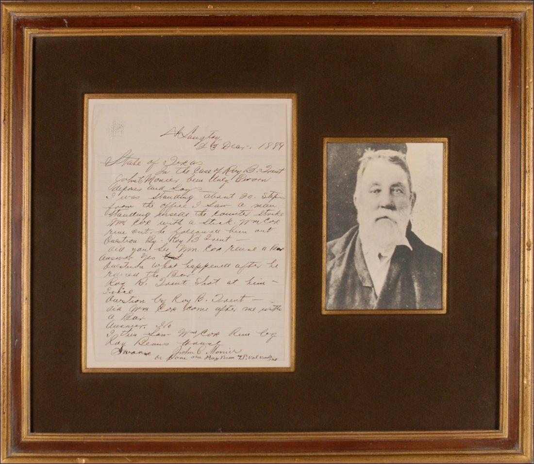 6: Judge Roy Bean Document
