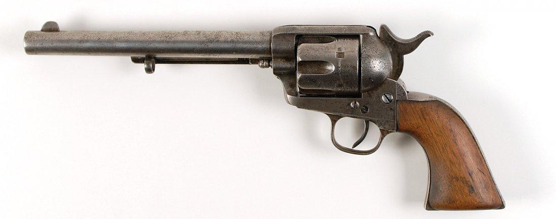 10: Bob Dalton .45 Colt Revolver