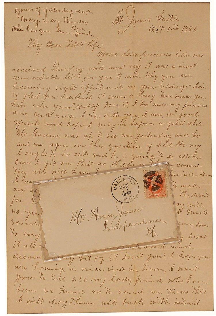17: Frank James Letter