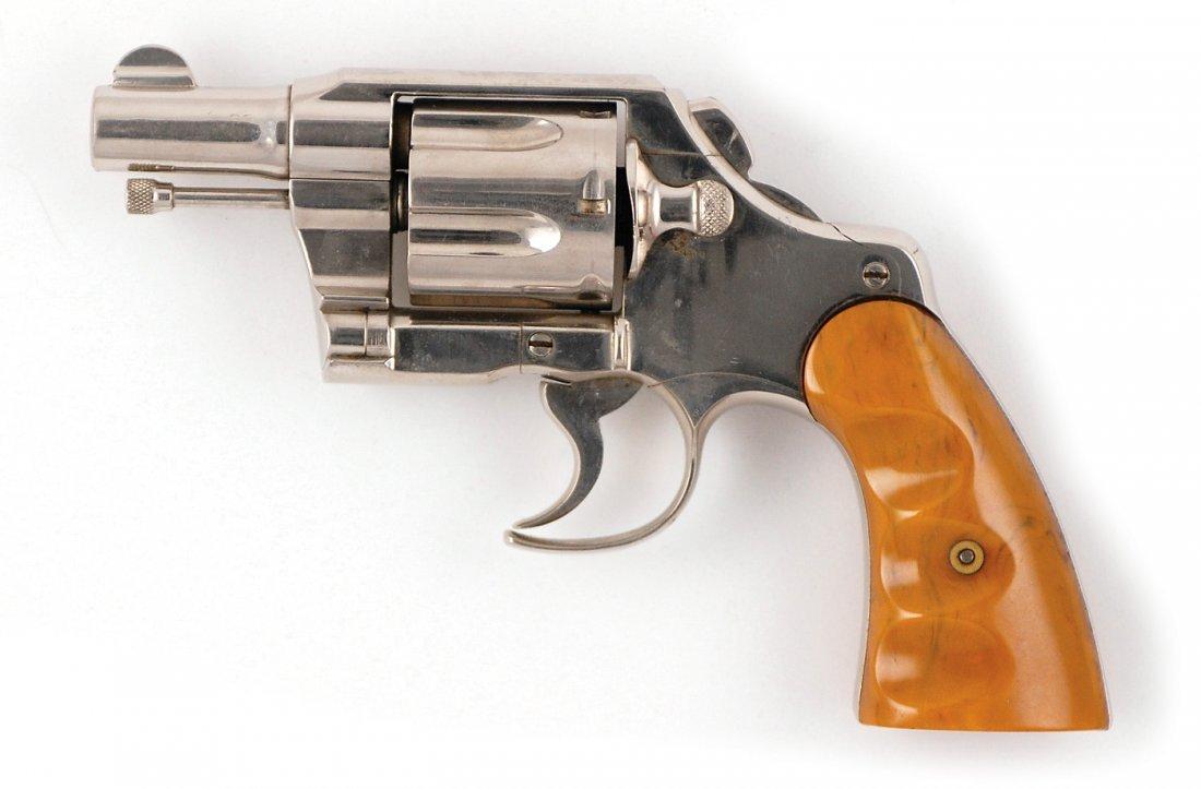 22: Clyde Barrow Colt Army Special .38 Revolver