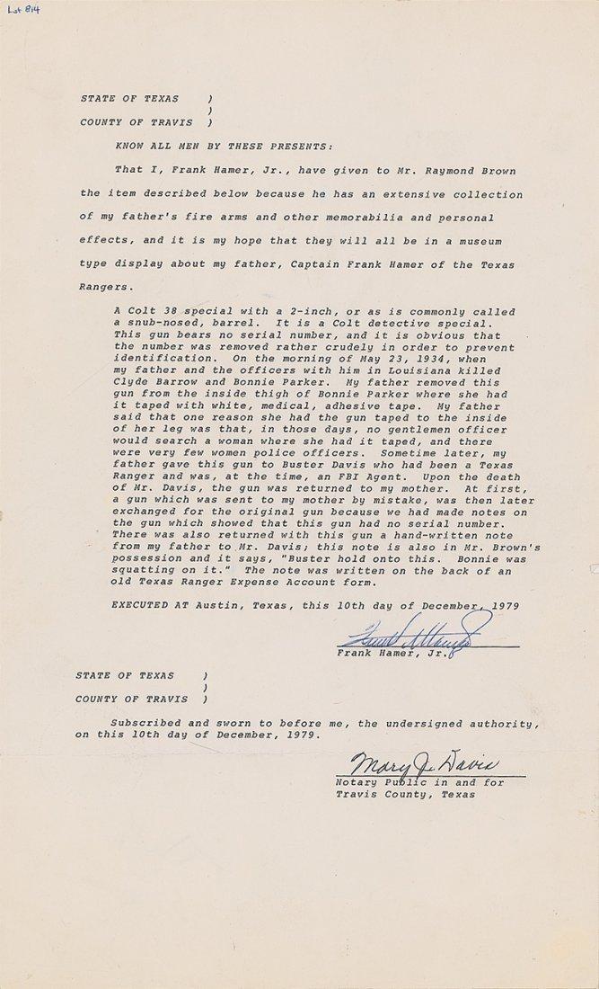 37: Bonnie Parker Colt Detective Special - 6