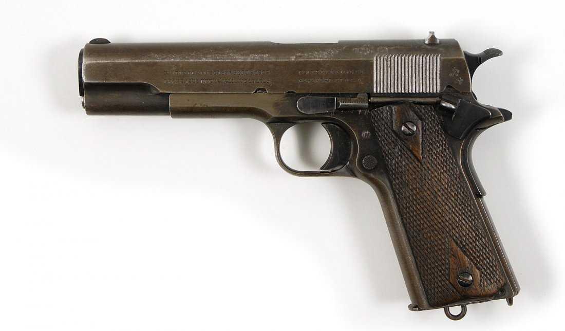 38: Clyde Barrow 1911 Army Colt .45 Pistol