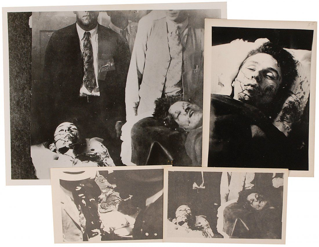 67: Bonnie and Clyde Death Photos - Sep 30, 2012   RR ...