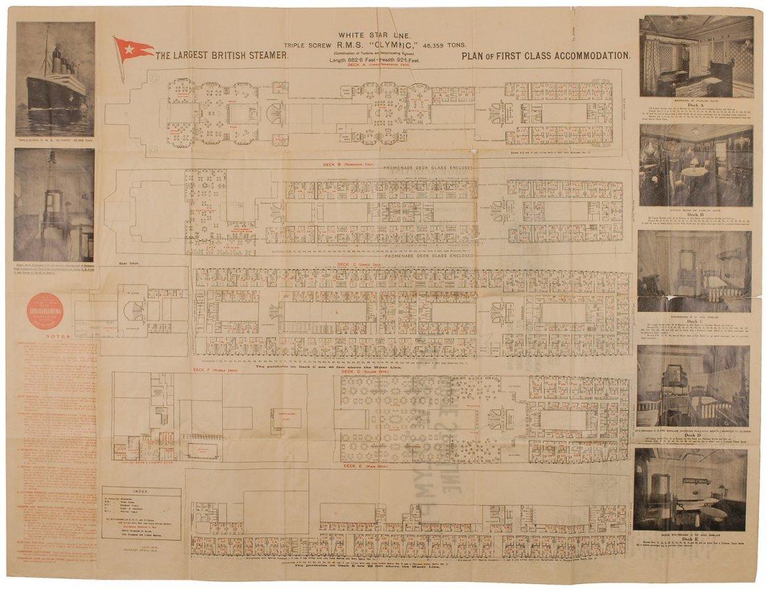 12: Olympic First Class Floorplan