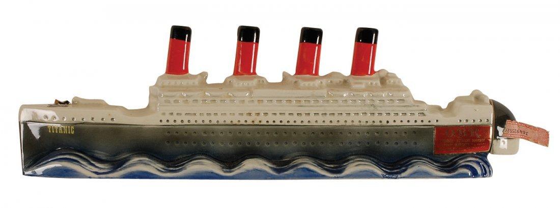 210: Titanic O. B. R. Kentucky Whiskey Bottle