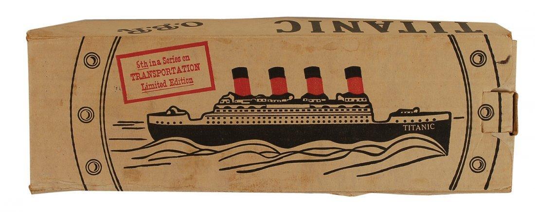 210: Titanic O. B. R. Kentucky Whiskey Bottle - 3