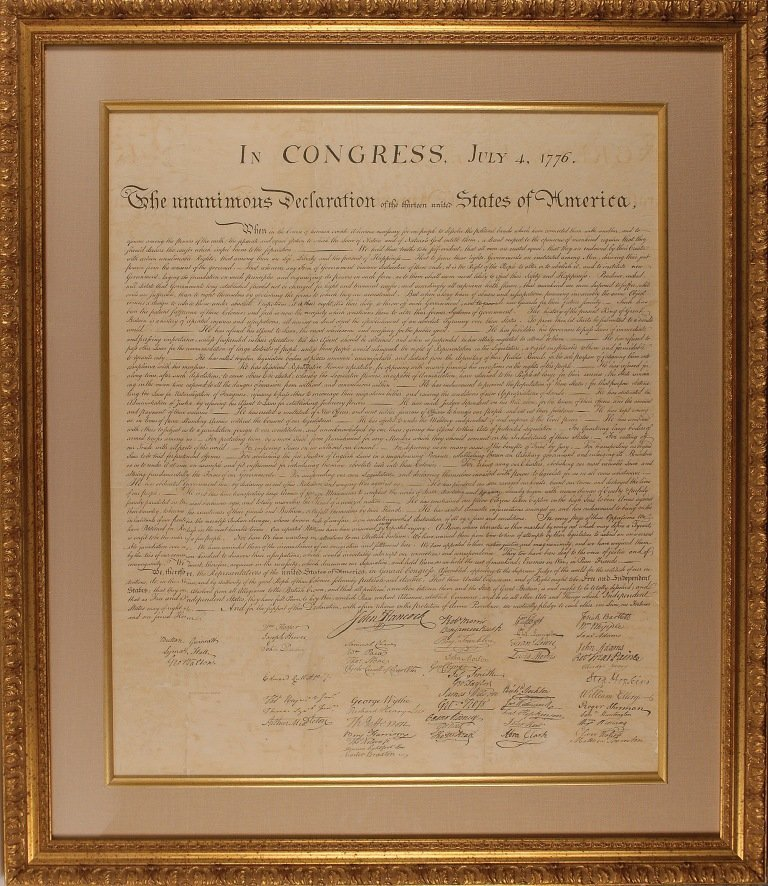 1000: Declaration of Independence
