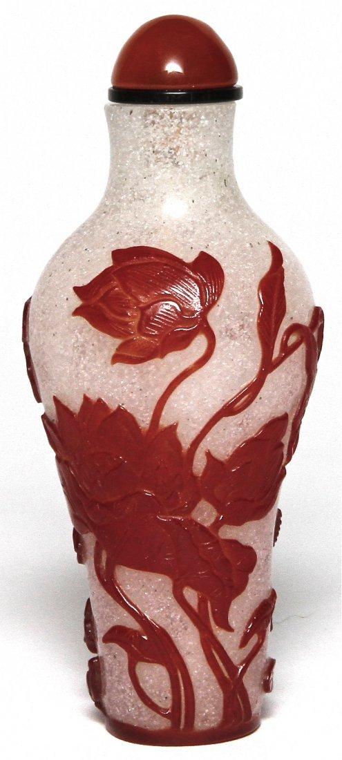 6: Peking Glass Snuff Bottle