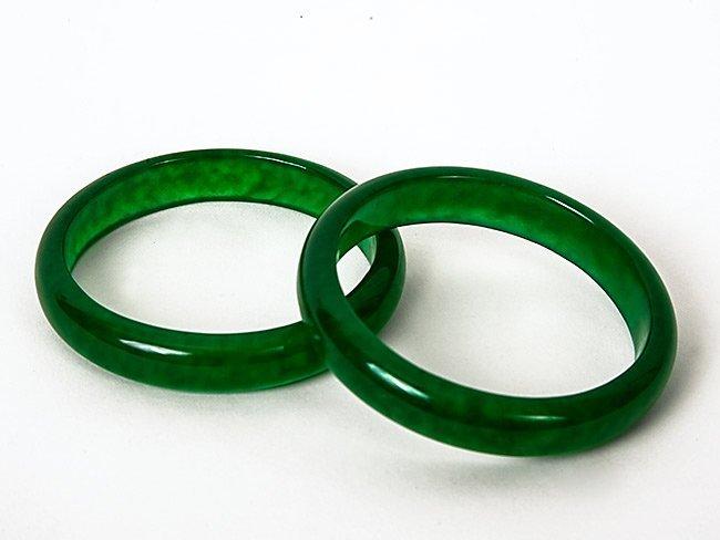 7: Two Jade Bangles