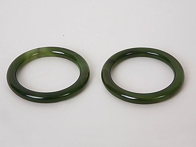 8: Two Jade Bangles