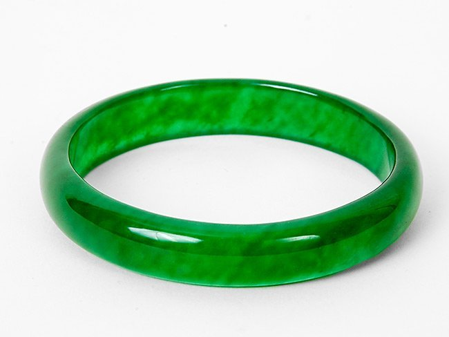 9: Green Jade Bangle